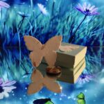 BUTTERFLY SEEDS AND MAGNET (TOOL TO SUPPORT: MINDFUL REFLECTION AND TRANSFORMATION)